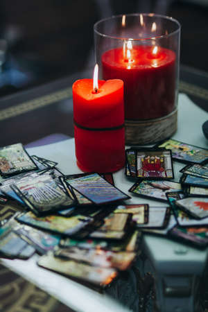 divination on tarot cards