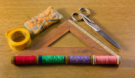 Old Sewing Tools photo