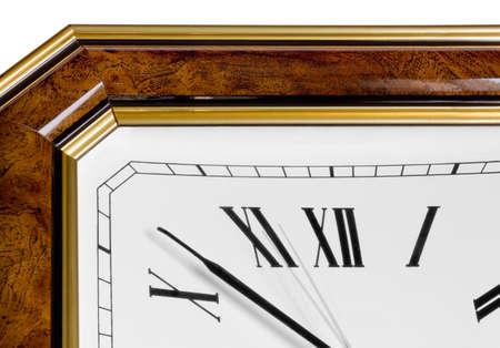numeros romanos: Reloj cl�sico con n�meros romanos