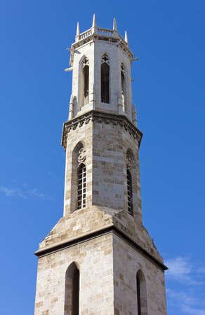 san agustin: Campanario de la iglesia de San Agust�n, en Valencia, Espa�a Foto de archivo