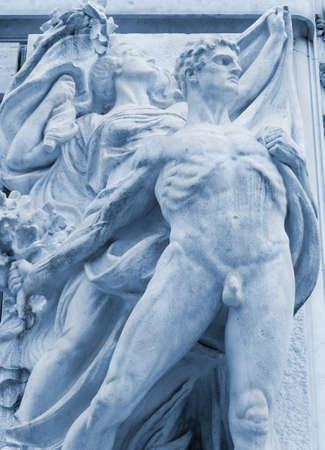 neoclassic: Neoclassic Statue in Rome