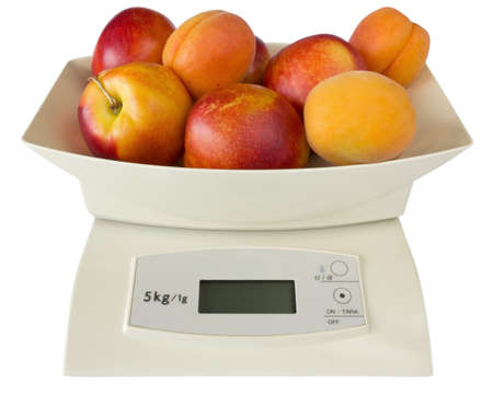 red gram: Scales with Peaches and Apricots