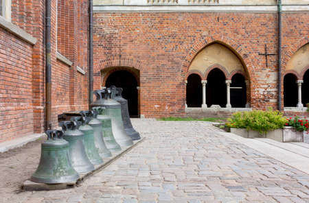 lutheran: View of the Courtyard of the Lutheran Cathedral in Riga