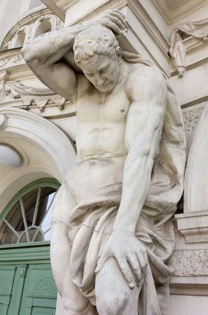 neoclassic: Neoclassic Male Statue