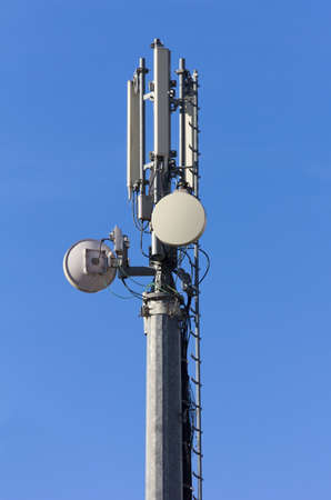 antenna: Telecommunication Antenna Stock Photo
