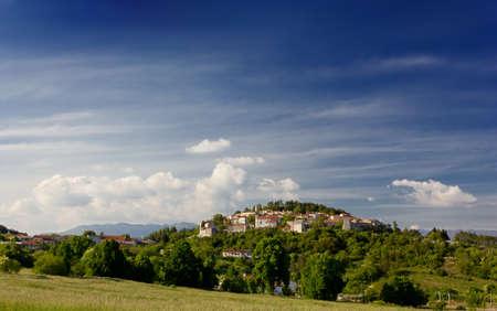 slovenian: Slovenian Karst Landscape Stock Photo