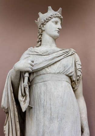 neoclassic: Neoclassic Marble Statue Stock Photo