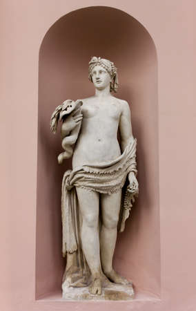 Neoclassic Marble Statues its Niche
