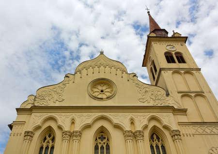 Franciscan church of Saint Leonard in Novo Mesto, Slovenia