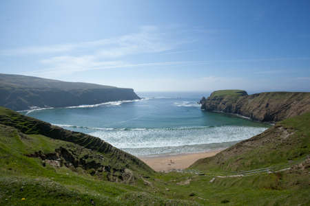 strand: The Silver Strand beach in Co. Donegal Ireland