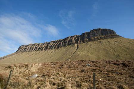 co: Benbulben mountain in Co. Sligo Ireland Stock Photo
