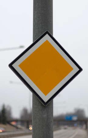 arterial: Arterial Road Sign by highway.