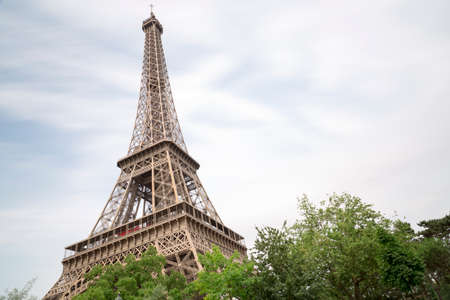 paris france: Eiffel Tower in Paris, France