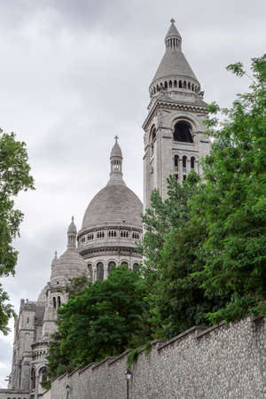 coeur: The  Sacre Coeur Church in Paris, France