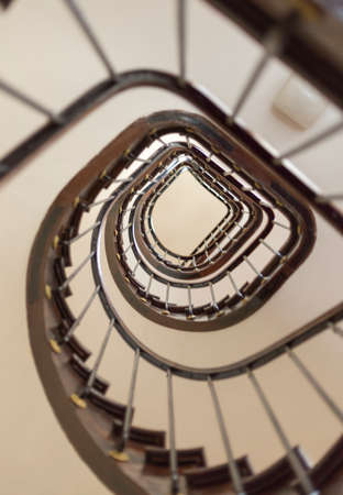 carpeting: Inside a Stair Case