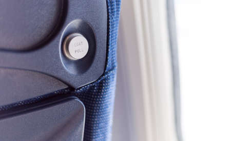 air: Air Plane Coat Hanger Stock Photo