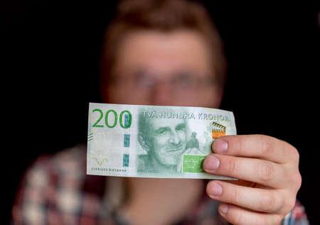 swedish: Swedish Two Hundred Krona Note