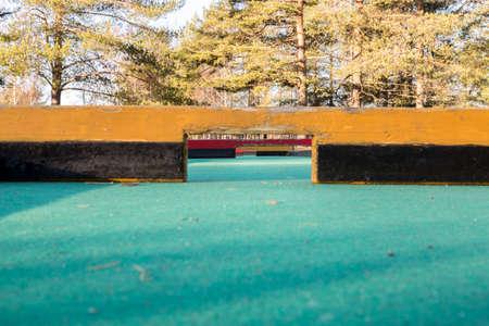 of miniature: Miniature Golf Course