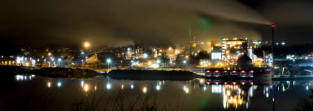 paper mill: Paper Mill Industry in Ornskoldsvik, Sweden