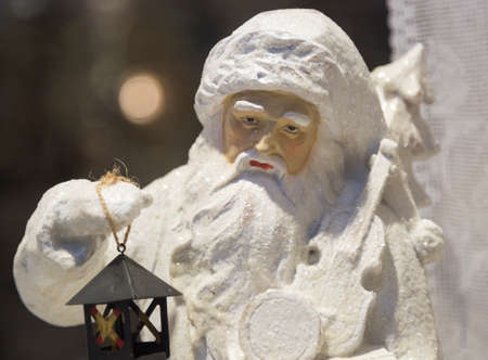 clause: Santa Clause Winter Figurine