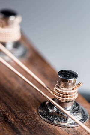 pegheads: Steel Stringed Guitar Machine Head Part