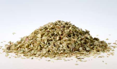 oregano: Pile of Dried Oregano