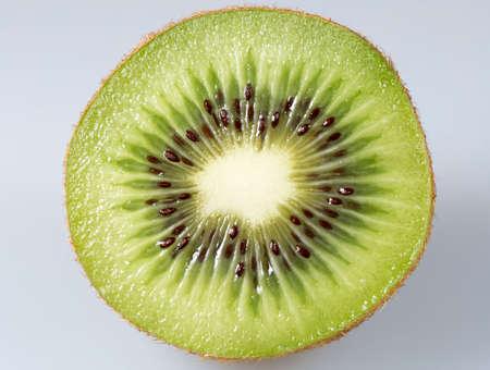 kiwi fruta: En rodajas kiwi Close Up