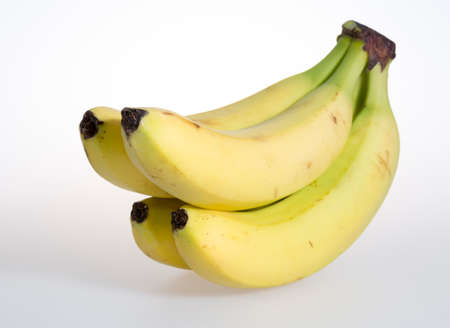 bunch up: Bunch of Bananas Close Up Stock Photo