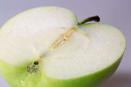 granny smith: Granny Smith Apple sliced