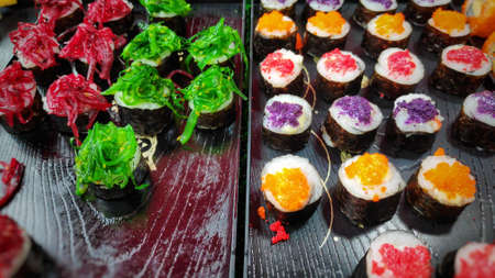 Street food culture in Thailand has many types. Imagens