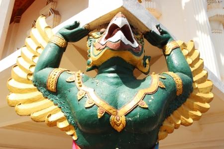 garuda: Garuda statue Stock Photo