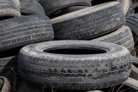 lubricator: used tires