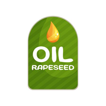 Packaging design for oil products illustration Иллюстрация