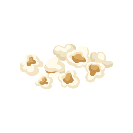 Popcorn vector Illustration on a white background