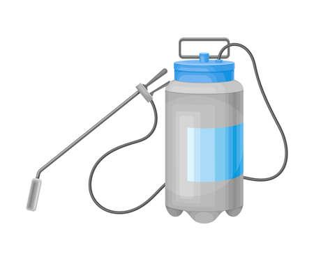 Compression Sprayer or Pneumatic Sprayer for Disinfection Vector Illustration Vettoriali