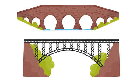 Metal Bridge as Structure for Spanning Physical Obstacle Vector Set
