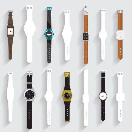 watch: Watch vector set