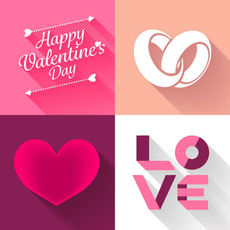 Hearth of love happy valentine