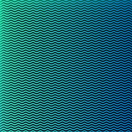 gradient  blue: Vector Background wave shape on gradient blue