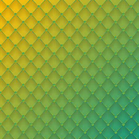 diamond shape: Vector background green gradient diamond shape Illustration