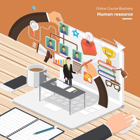 recursos financieros: conceptos isométricas diseño plano para la Economía Global, asesor financiero, gestión de recursos. Conceptos para la web banners y materiales promocionales.