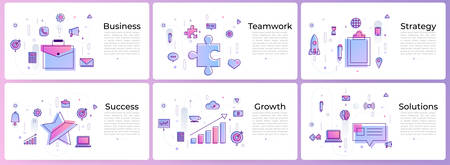 banner set digital marketing Stock Vector - 97990610