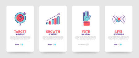 Set of banner design template. card design. business solution icons set and layout. Vector illustrate. Stock Vector - 136685511