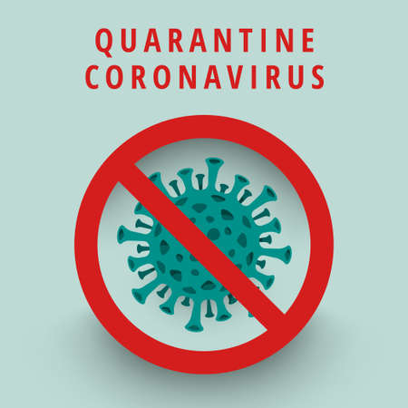 Illustrations concept coronavirus.  Vector illustrate. Ilustrace