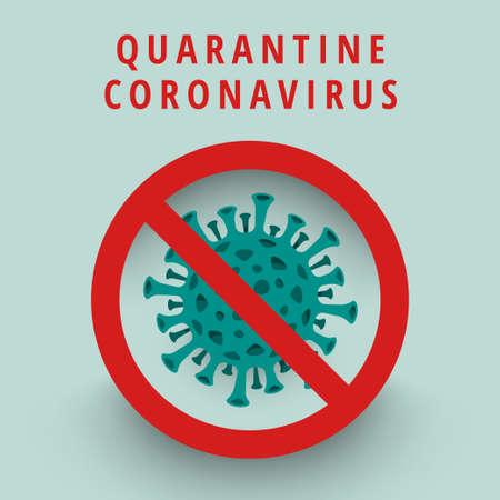 Ilustraciones concepto coronavirus. Vector ilustrar. Ilustración de vector