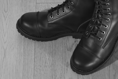 military shoes Stock Photo - 17595134