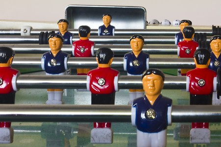Table football Stock Photo