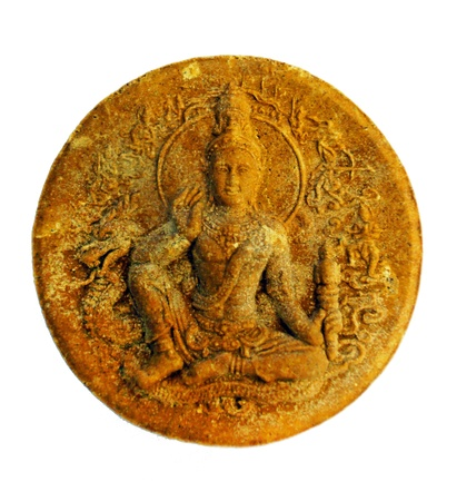 living wisdom: Ocean King God Jadukarm Ram Deva : Round coin with holy spell for RICH, WISDOM, HAPPINESS and Awesome life