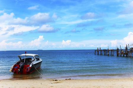koh samet: Boat on the sea Koh samet