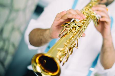 soprano saxophone: Saxofonista